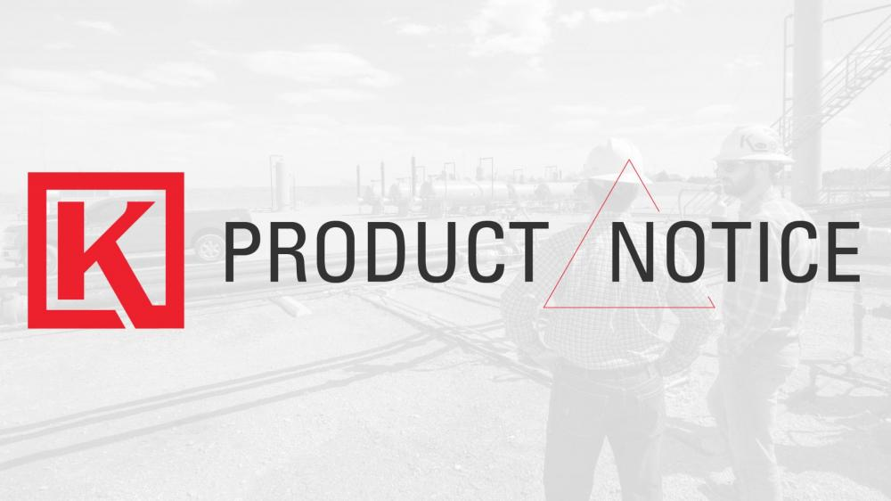 Product Notice | Discontinuing 50 PG Pilots