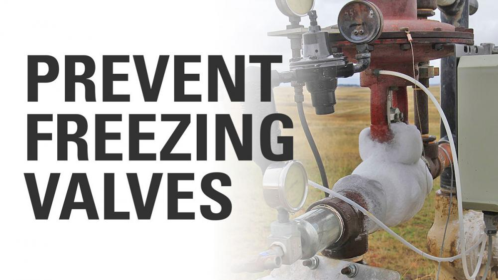 Prevent Freezing Valves: Valve Insulation Jackets vs. Catalytic Heaters