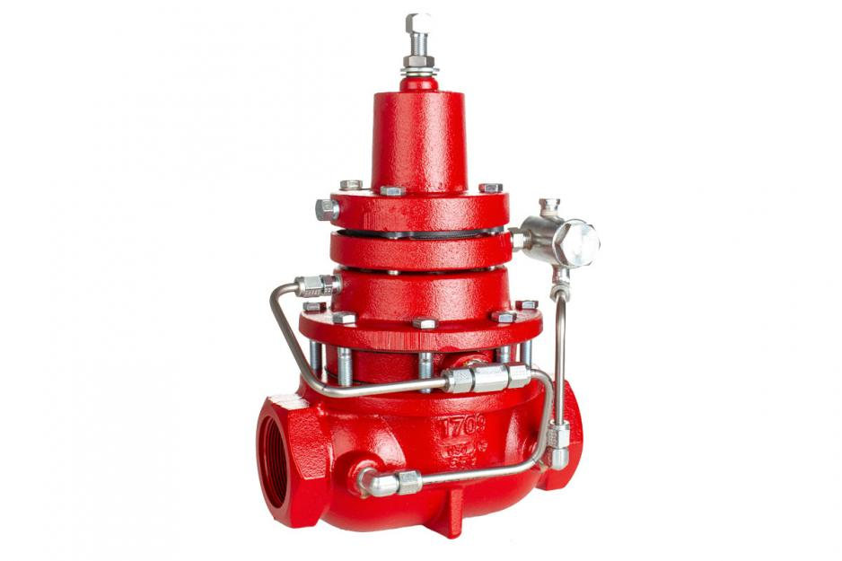 Back Pressure Vacuum Regulator